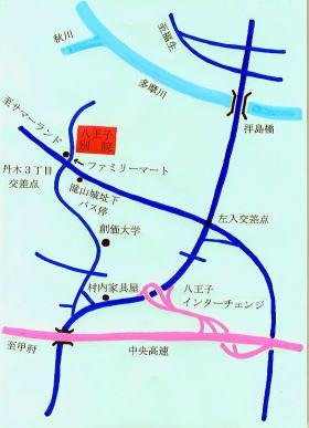八王子MAP