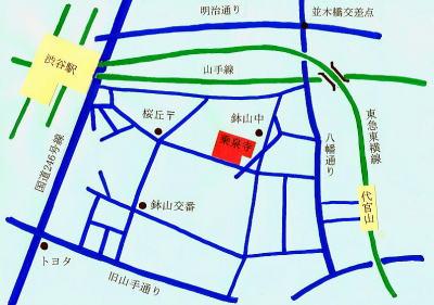 渋谷MAP