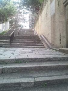 八軒屋の石段