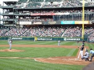 メジャーリーグ試合風景