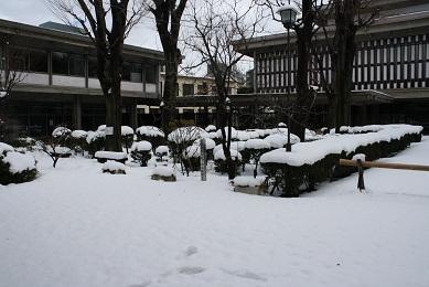 2年前の雪模様