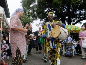 納涼祭アフリカパーカッション