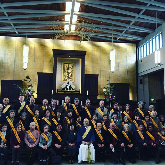 #信寿会 #乗泉寺今日は信寿会の初会合がありました。43名の参加でマジックショーもあり、楽しい集まりとなりました。