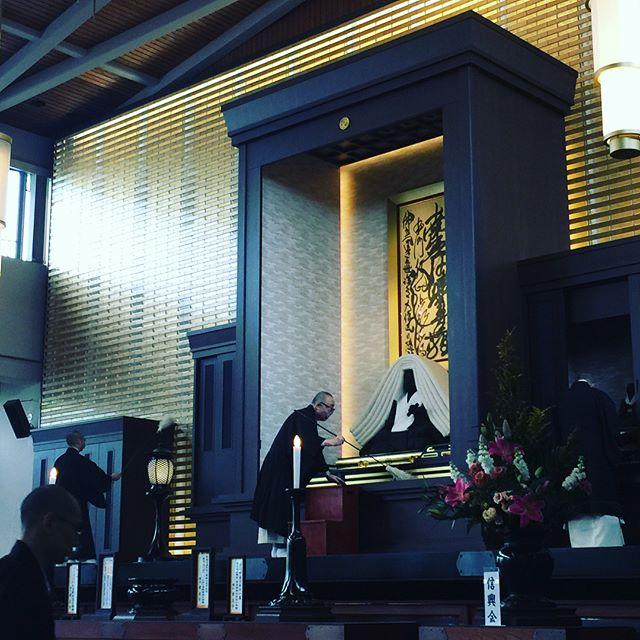#乗泉寺本日は寒参詣最終日です。朝参詣後、本堂と庫裏の御宝前のお塵払いをさせていただきました!