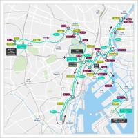 東京マラソンマップ